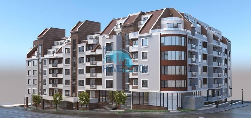 Светлые и уютные апартаменты в привлекательном жилом комплексе в квартале Левски, город Варна