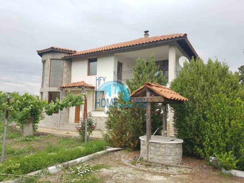 Новый готовый дом для постоянного проживания в селе Трыстиково