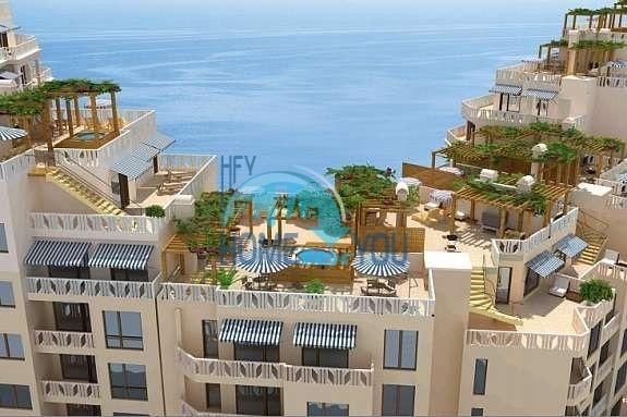 Трехкомнатная квартира с видом на море на Золотых песках 19