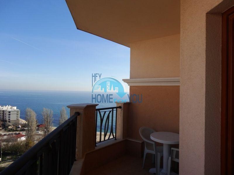 Квартира с мебелью на первой линии с видом на море - Золотые пески 5