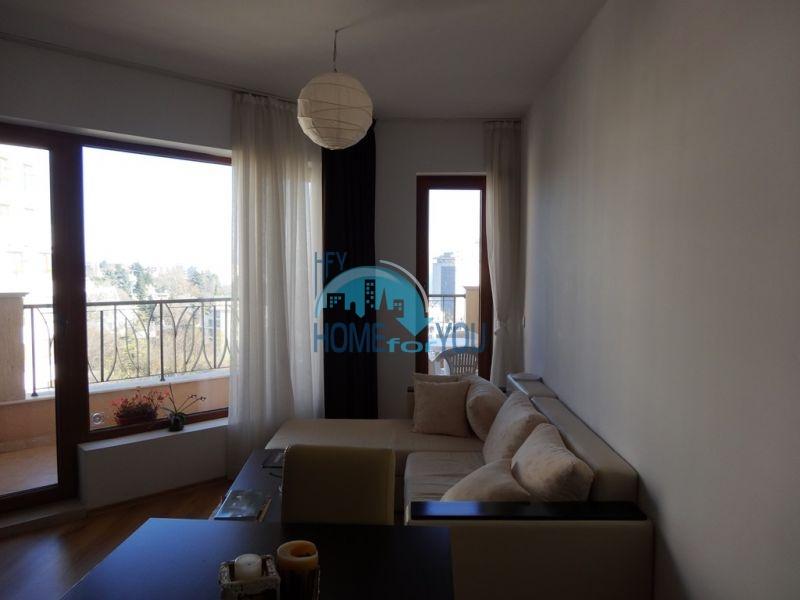 Квартира с мебелью на первой линии с видом на море - Золотые пески 3