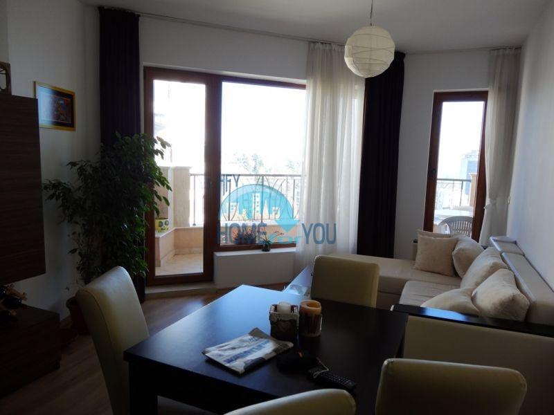 Квартира с мебелью на первой линии с видом на море - Золотые пески 2