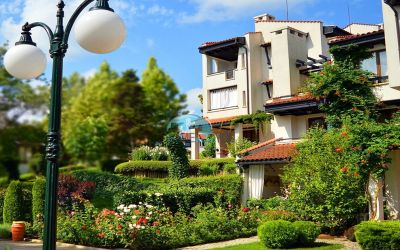 Двухкомнатная квартира с прекрасным видом в роскошном комплексе