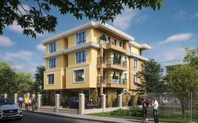 Новые апартаменты в уютном жилом квартале