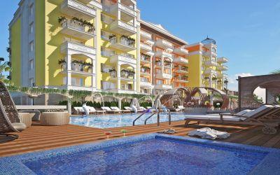Новый обворожительный комплекс в замечательном курорте Солнечный Берег -