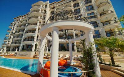Трехкомнатная квартира с видом на море  в шикарном комплексе - Святой Влас