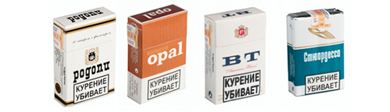 Сигареты «Опал», «Родопи», «ВТ» и «Стюардесса» вернуться на российский рынок