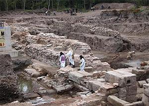 Продолжаются раскопки уникального древнего города Аква Калиде