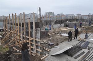 В Бургасе строят новый крытый плавательный центр