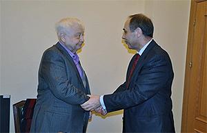 В Москве состоялась встреча Бойко Коцева с российскими артистами