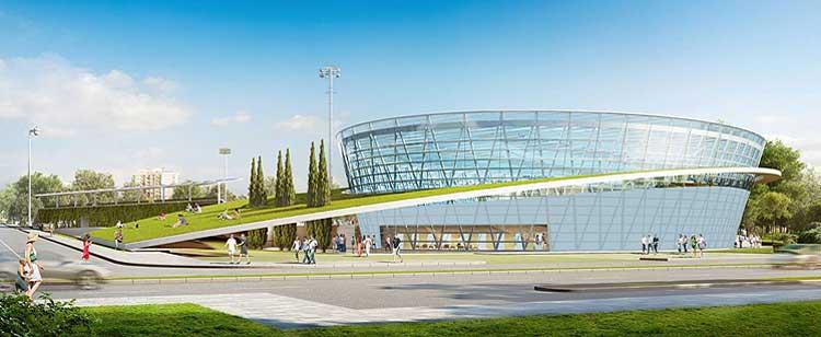 Современный плавательный комплекс строится в городе Бургас