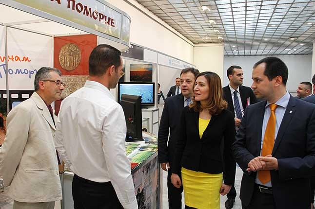 Муниципалитет Поморие принял участие в выставке Велико Тырново