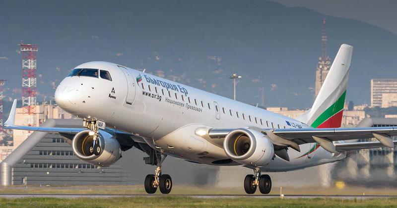 Авиакомпания Болгарии Bulgaria Air сообщила, что прямые рейсы Одесса - София отменены до 16 декабря