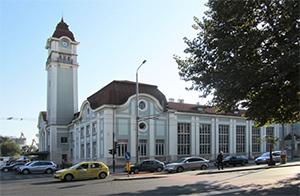 Железнодорожный вокзал в Бургасе