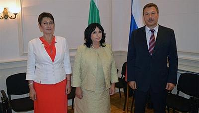 Россия и Болгария планируют усилить сотрудничество