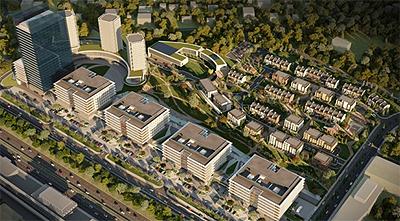 Новый квартал в городе София