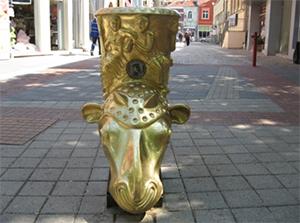 В центре Пловдива установлена новая оригинальная скульптура