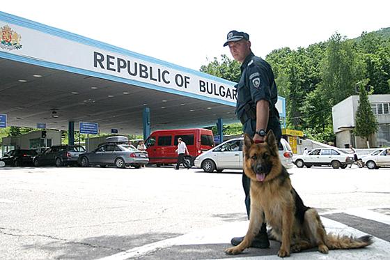 въезд на болгарскую территорию