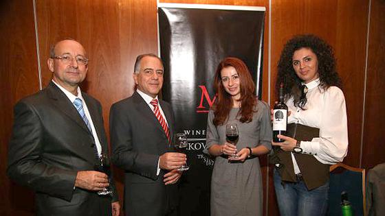 Вино фирмы «Братья Минковы» получило золото во Франции