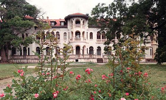 Восстановление парка царского дворца Врана