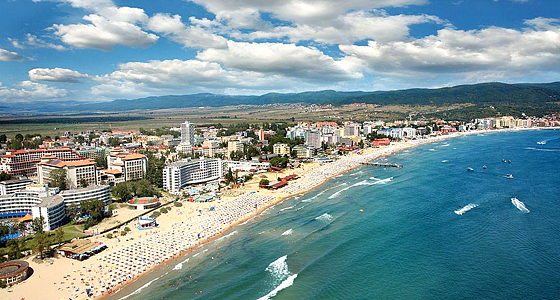 Летний сезон 2013 на Солнечном берегу